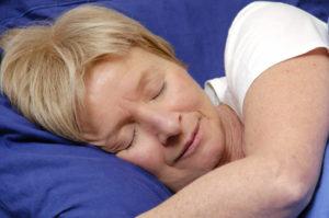 femme sommeil