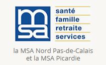 MSA Nord Pas-de-Calais et MSA Picardie